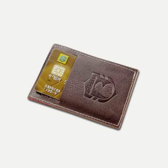 Carteira de couro compacta Party Wallet NW009