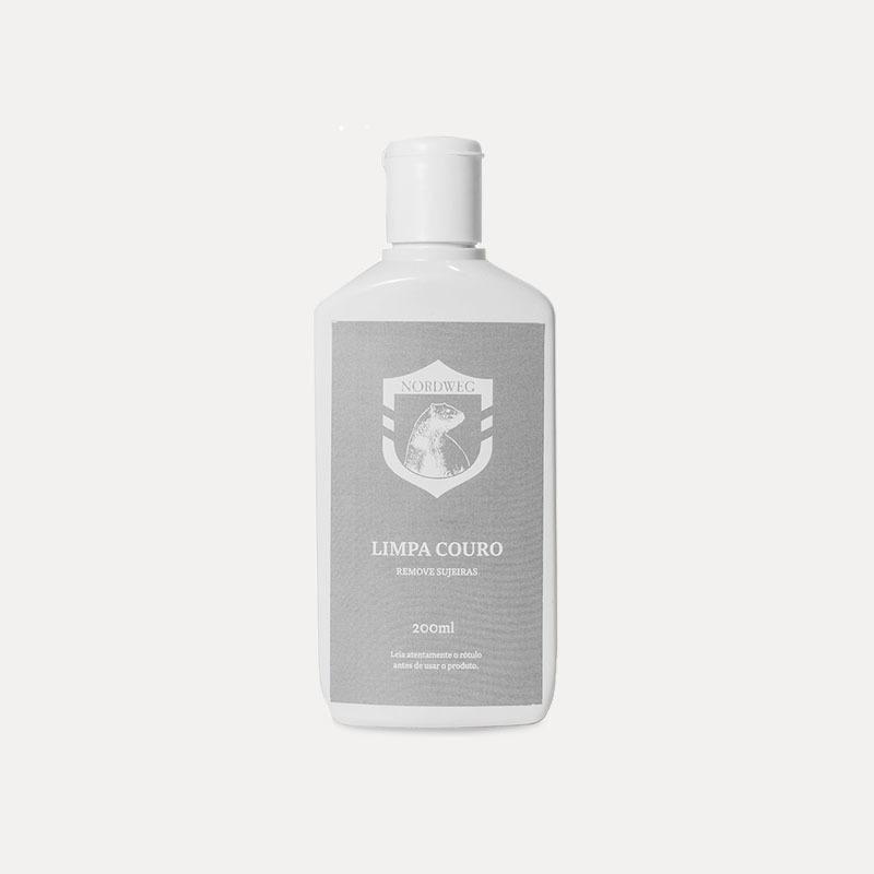Produto para tratamento de couro limpa couro
