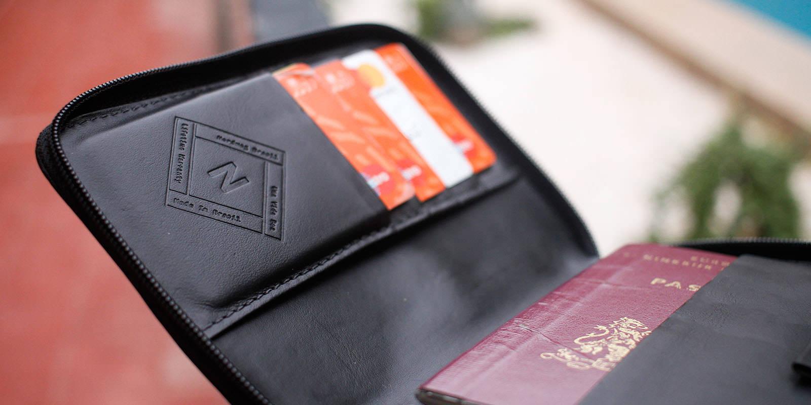 Porta passaporte Nômade NW087