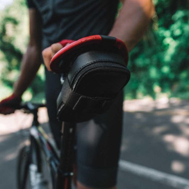 Estojo de couro para bicicleta Nordweg x Kirschner Saddle Bag