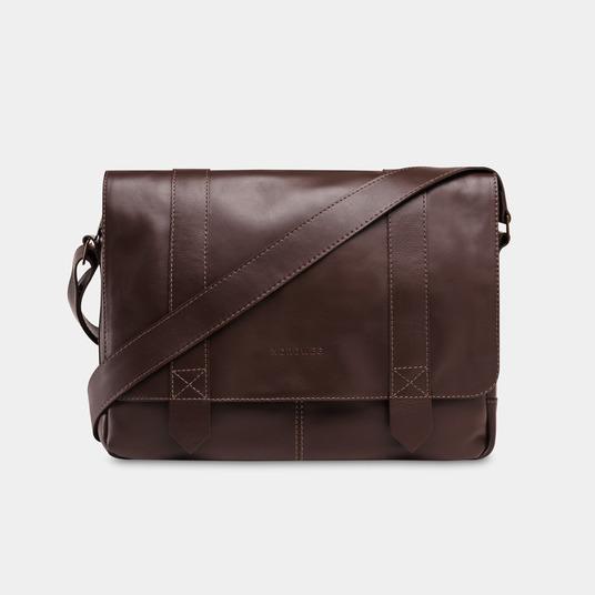 Bolsa masculina de couro para notebook NW066B